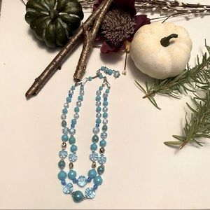Rare Antique Double Strand Necklace- Germany